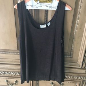 Chico's Travelers Chocolate Brown Tank Size 3